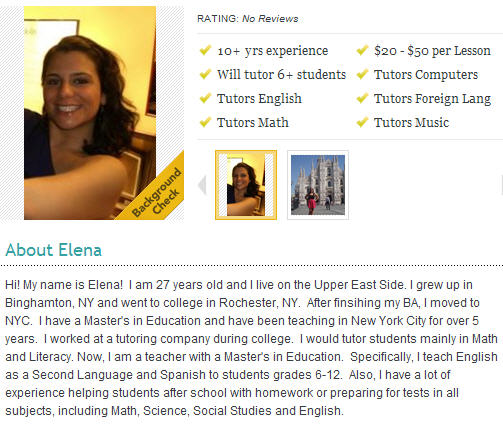 Math tutoring in NY/NJ